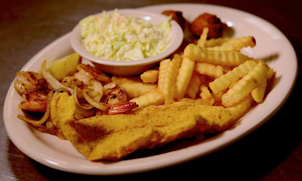 Shrimp Catfish Dinnner
