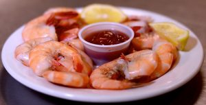 Half Pound Boiled Shrimp